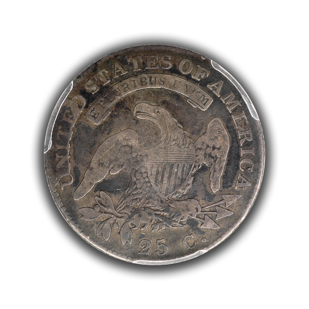 1825 4 2 b 3 with reverse cud pcgs vg 8 sold for 1825 2